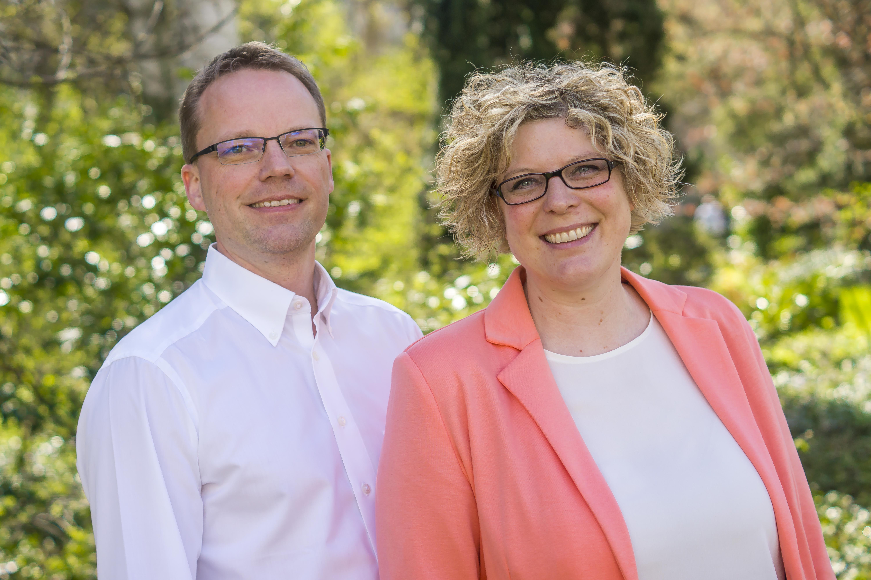Simone Roos und Olaf Lehmann