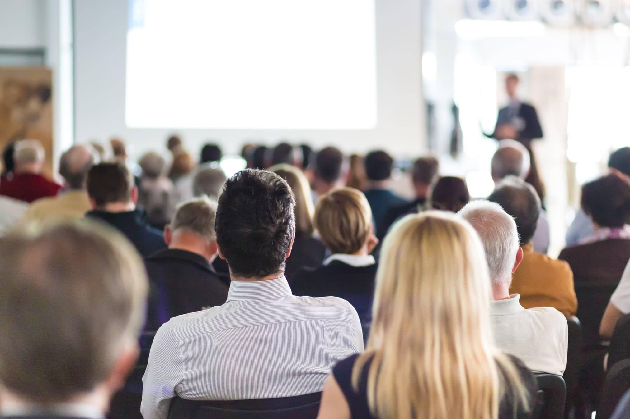 Vortrag Publikum