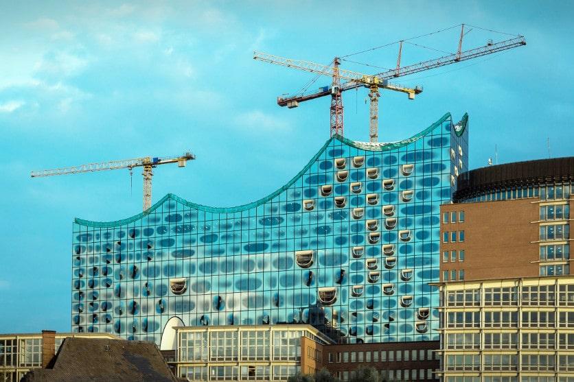Großprojekt Elbphilharmonie